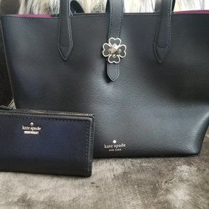 Kate Spade Kaci Small Tote & Braylon Wallet Set